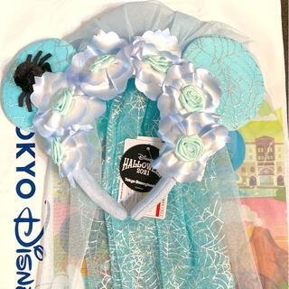 ディズニー(Disney)の【新品】ディズニー ハロウィーン ゴーストブライド 花嫁 カチューシャ(カチューシャ)