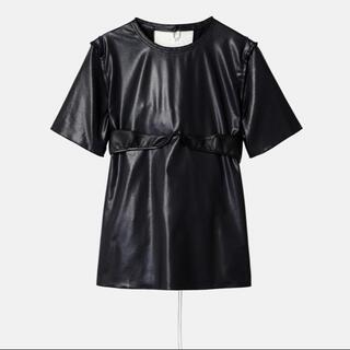 ルシェルブルー(LE CIEL BLEU)の新品未使用SS21 IRENE  Georgette Bra Tops(シャツ/ブラウス(半袖/袖なし))