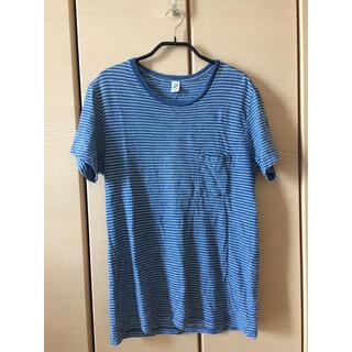 ジャーナルスタンダード(JOURNAL STANDARD)のSAVE KHAKI UNITED INDIGO POCKET Tシャツ(Tシャツ/カットソー(半袖/袖なし))