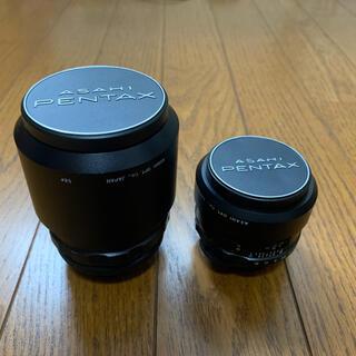 ペンタックス(PENTAX)のSuper-Takumar 50mm&135mm M42マウント(レンズ(単焦点))