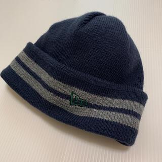 ニューエラー(NEW ERA)の【美品】 NEW ERA GOLF ニット帽 ニットキャップ(ニット帽/ビーニー)