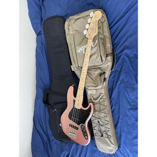 フェンダー(Fender)の値下げFenderUSA JAZZベース 純正ギグバッグ+アーバンギアギグバッグ(エレキベース)
