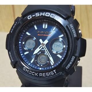 G-SHOCK - CASIO G-SHOCK AWG-M100SB 電波 ソーラー 腕時計 メンズ