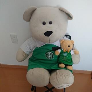 Starbucks Coffee - 中国スターバックス 80センチ 巨大ベアリスタ