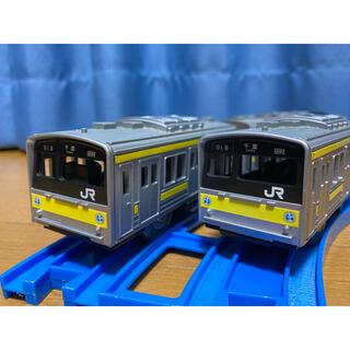 トミー(TOMMY)の[レア] 総武線205系 プラレール(電車のおもちゃ/車)