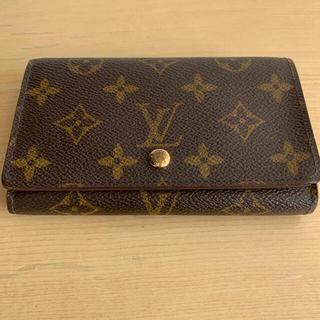 ルイヴィトン(LOUIS VUITTON)のルイヴィトン 2つ折り財布 モノグラム(財布)