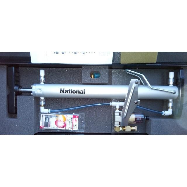 送料無料 National ナショナル 簡易 真空ポンプ HS-KP2  スマホ/家電/カメラの冷暖房/空調(エアコン)の商品写真