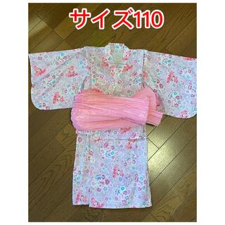 サンリオ(サンリオ)のサンリオ 浴衣 110センチ(甚平/浴衣)