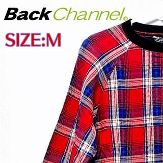 バックチャンネル(Back Channel)の【Back Channel】check sweat Tops(スウェット)