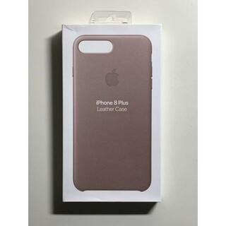 Apple - 【新品】純正 iPhone 7 / 8 Plus レザーケース・トープ
