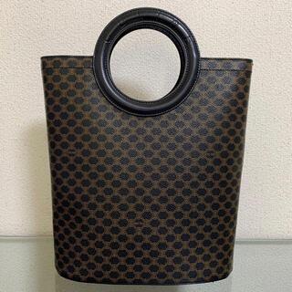 Gucci - 良品 オールド セリーヌ ハンドバッグ マカダム サークルロゴ ヴィンテージ