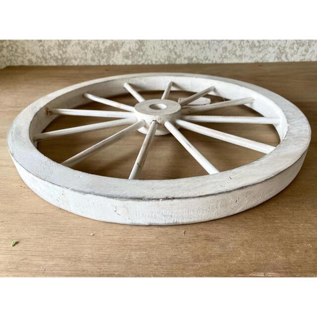 木製車輪40センチタイプ処分 これで最後〜 インテリア/住まい/日用品のインテリア小物(置物)の商品写真