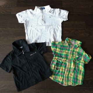 POLO RALPH LAUREN - POLO Tシャツ 半袖 100 95 コムサ カットソー キッズ リバーシブル