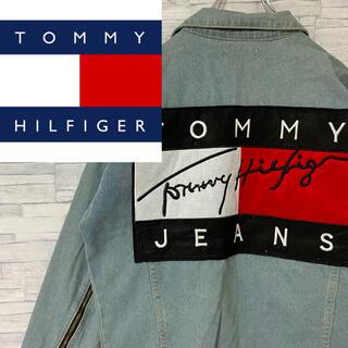 トミーヒルフィガー(TOMMY HILFIGER)の【人気】希少 TOMMY HILFIGER  Gジャン  ビッグフラッグ(Gジャン/デニムジャケット)