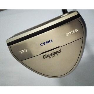 クリーブランドゴルフ(Cleveland Golf)のクリーブランドパターTFi 2135 CERO34インチHC付属 自宅練習のみ(クラブ)
