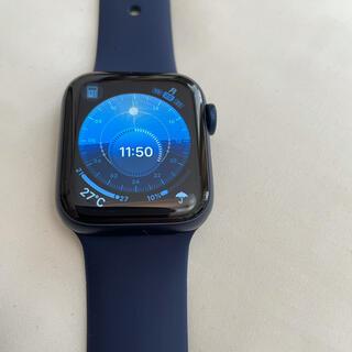 Apple Watch - Apple Watch Series6 40mm ブルーアルミニウム
