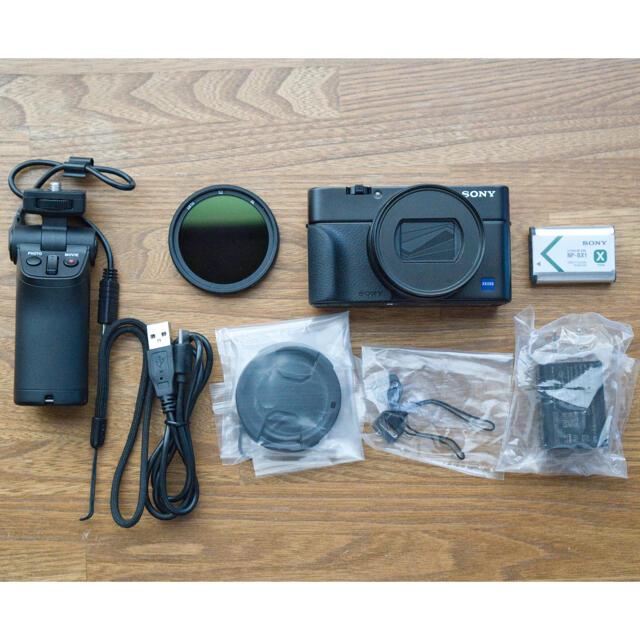 SONY(ソニー)のSONY Cyber-shot RX100m7(RX100Ⅶ) スマホ/家電/カメラのカメラ(コンパクトデジタルカメラ)の商品写真