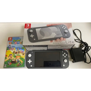 Nintendo Switch - switch lite あつ森セット
