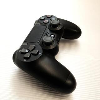 SONY - PS4 コントローラー ジェットブラック(後期モデル)