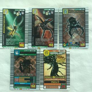 セガ(SEGA)のムシキングカード11枚(カード)