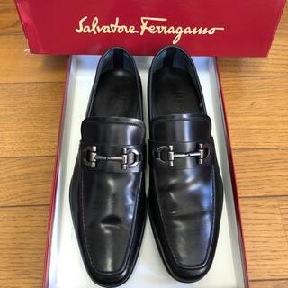 サルヴァトーレフェラガモ(Salvatore Ferragamo)の新品未使用 Salvatore Ferragamo ローファー 黒(ドレス/ビジネス)