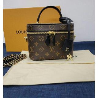 LOUIS VUITTON -  Louis Vuitton ヴァニティPM モノグラムハンドバッグ