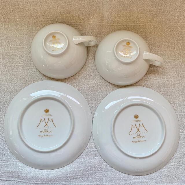 ☆未使用☆ manufacture de monaco /ティーセット インテリア/住まい/日用品のキッチン/食器(食器)の商品写真