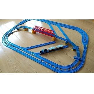 トミー(TOMMY)のプラレール レール レイアウト(鉄道模型)