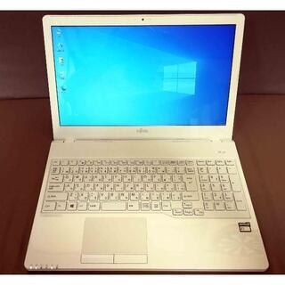 富士通 - 富士通 FMVA30B1W 4GBメモリーSSD128GB 美品