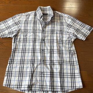 バーバリーブラックレーベル(BURBERRY BLACK LABEL)のバーバリーブラックレーベル☆ノバチェック柄半袖シャツ(シャツ)