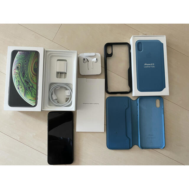 iPhone(アイフォーン)のiPhone Xs 256GB SIMフリーモデル スマホ/家電/カメラのスマートフォン/携帯電話(スマートフォン本体)の商品写真