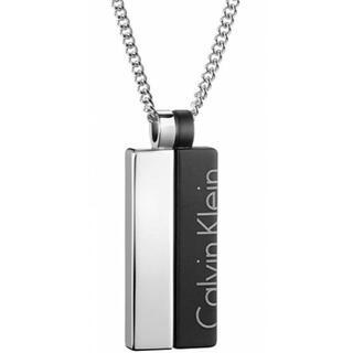 Calvin Klein - カルバンクライン ロゴ プレート ネックレス