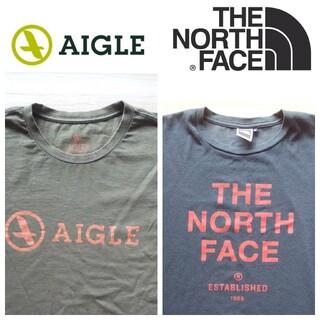 THE NORTH FACE - アウトドアブランドTシャツ2枚セット 半袖 メンズM