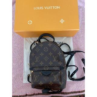 LOUIS VUITTON - 美品  Louis Vuitton パームスプリングス モノグラム リュック