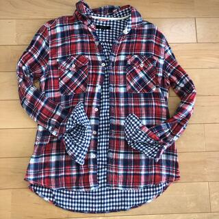 ユナイテッドアローズ(UNITED ARROWS)の美品 ユナイテッドアローズ    メンズ チェックシャツ 赤(シャツ)