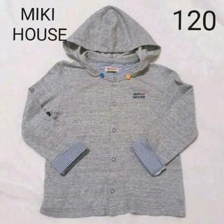 ミキハウス(mikihouse)のMIKI HOUSE ミキハウス 薄手 上着 120(ジャケット/上着)
