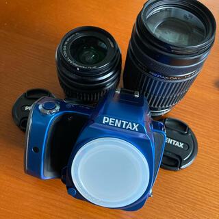 PENTAX - ペンタックス PENTAX K-S1 ダブルズームレンズキット ブルー 実用品
