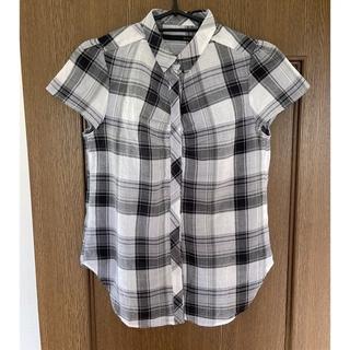 ヘザー(heather)のHeather チェックシャツ 半袖(シャツ/ブラウス(半袖/袖なし))