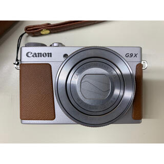 Canon - PowerShot G9 X Mark II (シルバー)美品 64GSD付き