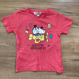 サンリオ(サンリオ)のキティちゃん&ドラえもん Tシャツ 90(Tシャツ/カットソー)
