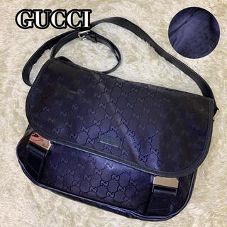 Gucci - ✨希少美品✨GUCCI メッセンジャーバッグ インプリメ GG パープル