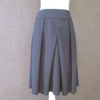 フォクシー(FOXEY)のフォクシー FOXEY 黒 スカート 40 日本製 春夏(ひざ丈スカート)