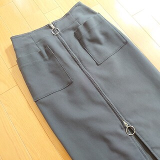 Noble - NOBLE グレー スカート タイト