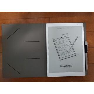 フジツウ(富士通)の新型 QUADERNO(クアデルノ)本体 FMVDP51 A5 純正カバー付(タブレット)
