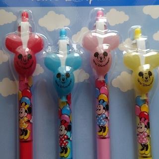 Disney - 【新品未使用】ミッキーバルーン ディズニー ボールペン4本セット