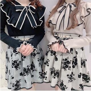 evelyn - フロッキースカート