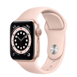Apple Watch - アップルウォッチ SE 40mm ピンク 保護フィルム付き