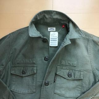 ハリウッドランチマーケット(HOLLYWOOD RANCH MARKET)のレディースミリタリーシャツ レディースジャケット 日本製 HRMarket(Tシャツ(長袖/七分))