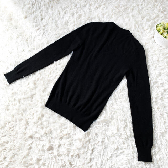 DOLCE&GABBANA(ドルチェアンドガッバーナ)の美品 DOLCE&GABBANAドルガバ パール カシミヤ100  セーター レディースのトップス(ニット/セーター)の商品写真