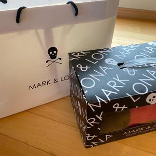 マークアンドロナ(MARK&LONA)のマークアンドロナ パターマット 黒/ピンク(その他)